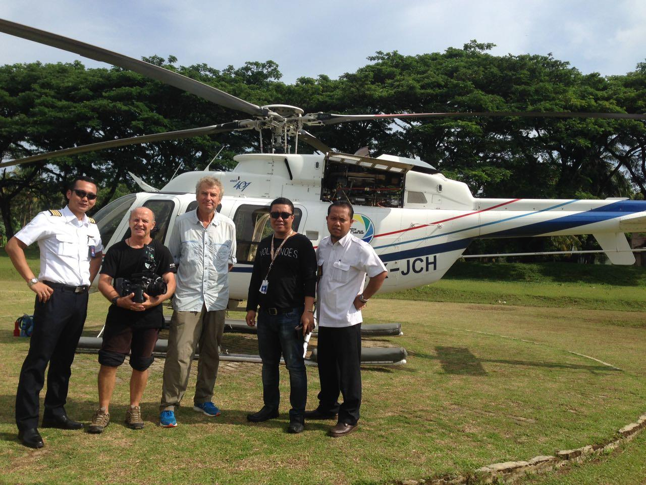 Helicopter Team Bali