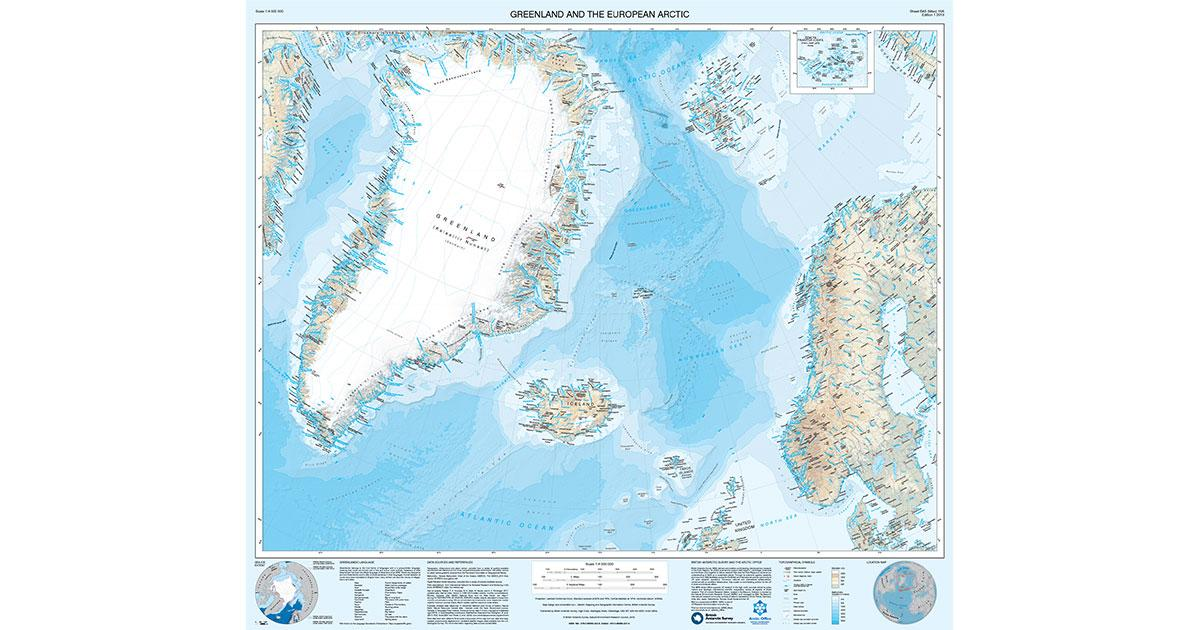 New Map of Greenland Reveals Fast-Changing Environment