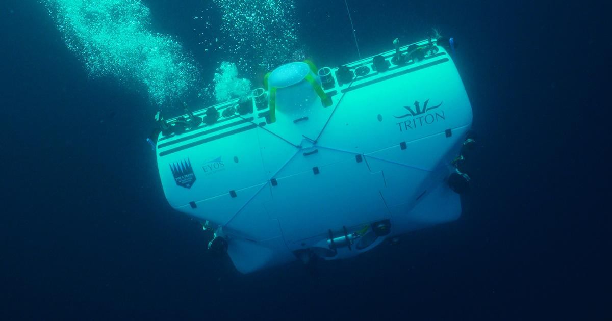 The Time is Right: A Public-Private Partnership  for the World's Deepest Submersible