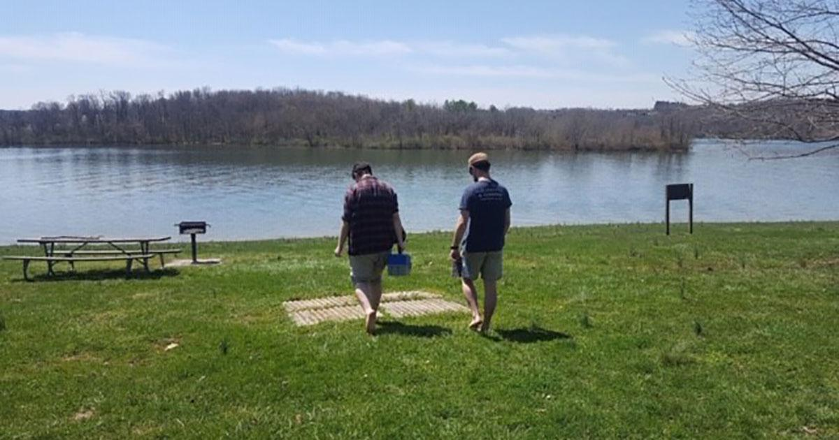 Fishing Leads to Investigation of Environmental Changes in Waterways