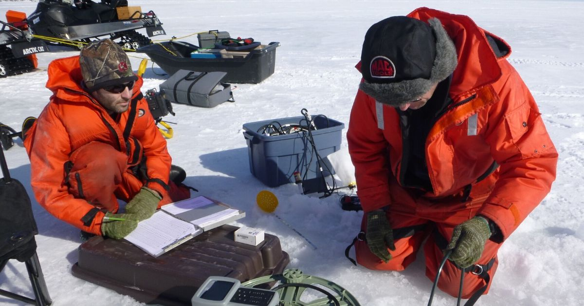 RBR Array Records High Accuracy and Frequency Temperature Under Seasonal Lake Ice