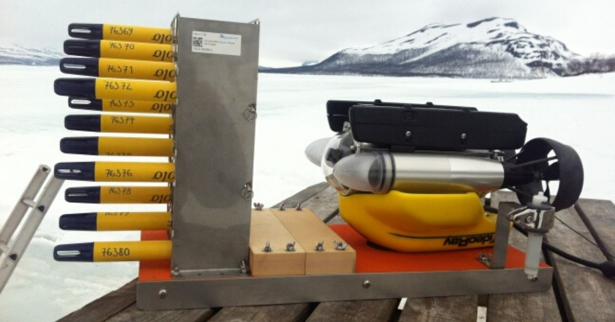 RBR Case Study: Collecting Fine-Scale Temperature Measurements Under Seasonal Lake Ice