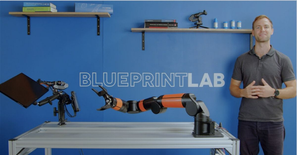 Blueprint Lab Launches the Reach Bravo Robotic Arm System