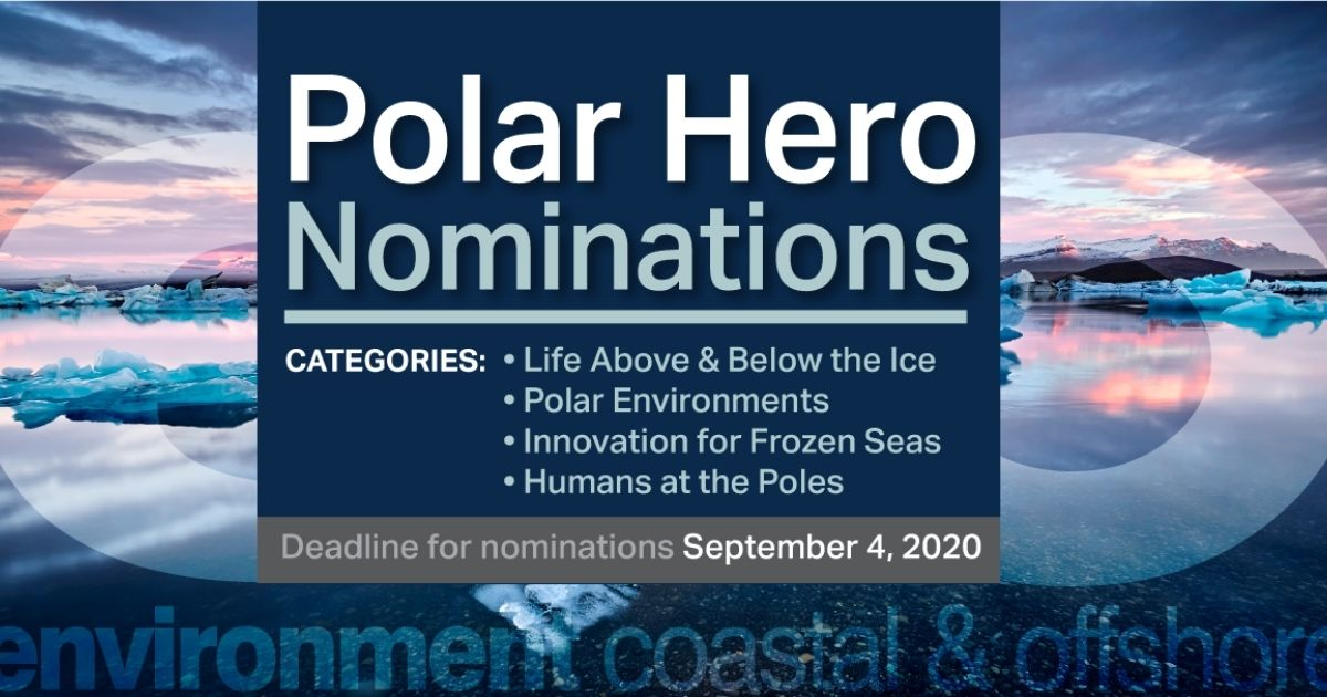 Nominate a 'Polar Hero' to be Recognized in ECO's Polar Special Issue