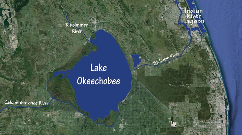 Okeechobee map
